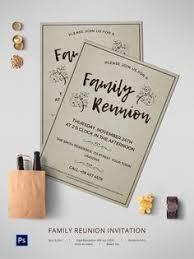 family reunion invitation card template family reunion