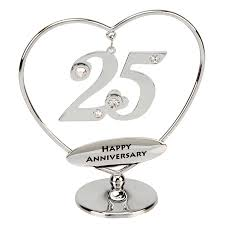 25th anniversary gifts top 10 25th wedding anniversary gift ideas for parents 2017