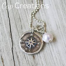wax seal jewelry compass wax seal pendant