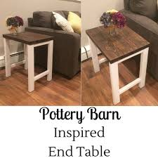 Making Wooden End Tables by Best 25 Diy End Tables Ideas On Pinterest Pallet End Tables