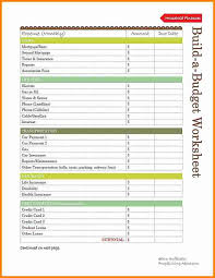 Family Budget Spreadsheet 8 Household Budget Template Printable Budget Template