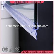 Shower Door Bottom Sweep With Drip Rail Shower Door Sweep With Drip Rail Buy Shower Door Sweep Product