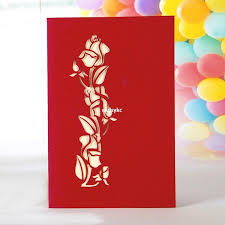 handmade pop up greeting cards thank you cards birthday card