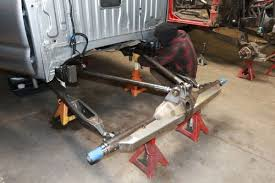 prerunner truck suspension a stick by stick build of a true long travel prerunner rear suspension
