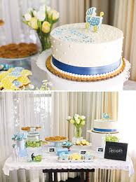 lovely blue u0026 white backyard baby shower hostess with the mostess