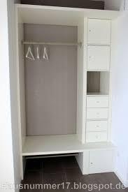 Schlafzimmer Schranksysteme Ikea Die Besten 25 Offene Garderobe Ideen Auf Pinterest Offener