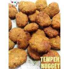 Minyak Wijen Di Indo tempeh nuggets with seasoned rice bikin nugget tempe yuk steemit