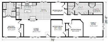 champion manufactured homes floor plans champion craftsman 4764f ziegler homes
