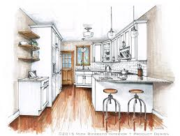 Sketch Kitchen Design by Tag For Sketch Of Small Kitchen Kitchen Elevation Perspective