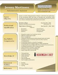 resume examples for executive administrative assistant