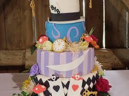 alice in wonderland wedding cake cakecentral com