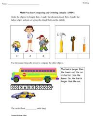 1st grade common core math worksheets 1 md 1 compare and order