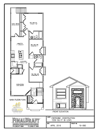 bi level home plans home designs evershine construction