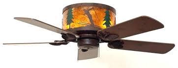 hugger style ceiling fan hugger ceiling fans rustic and western ceiling fan skiing scene in