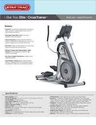 star trac elite elliptical