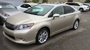 lexus hs for sale pre owned gold 2011 lexus hs 250h 4dr sdn premium luxury st