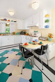 retro kitchen tile kitchen contemporary with kitchen splashback