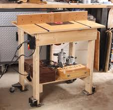 Big Router Table On A Budget Finewoodworking