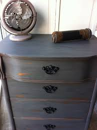 Shabby Chic Used Furniture by Distressed Grey Dresser Bestdressers 2017