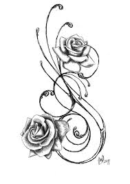 Flowers On Vines Tattoo Designs - flower tattoo designs rose tattoos tattoo designs and tattoo