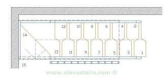 amazing alternate tread stairs design for interior decorating