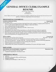data entry sample resume general office clerk sample resume 5 examples general resume