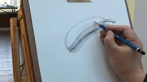 how to draw a banana with pencil youtube