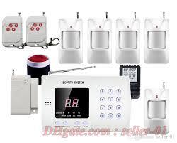 wireless pir motion detector door windows sensor home security burglar alarm system auto dialing dialer easy diy security system equipment security system