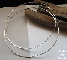 silver hoop earrings sterling silver hoop earrings large lightweight hoops 3