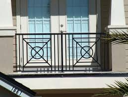 art deco balcony aluminum balcony railing 2