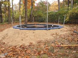 life with the deloach u0027s in ground trampoline