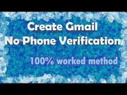 cara membuat akun gmail tanpa verifikasi nomor telepon 2015 cara membuat akun gmail tanpa verifikasi no hp 2017 youtube