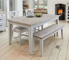 dining table extendable 4 to 8 langton grey painted solid wood furniture 4 to 8 seater extending
