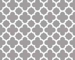 Moroccan Trellis Fabric Quatrefoil Fabric Etsy