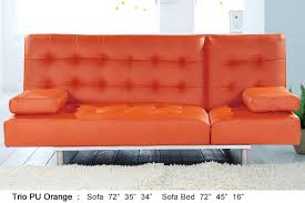 Orange Sofa Bed by Comfortable Sofa Sleeper Ideas As Extra Beds For Overnight Guests