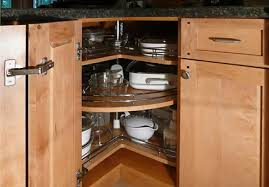 Download Corner Kitchen Cabinet Gencongresscom - Lazy susan kitchen cabinet plans