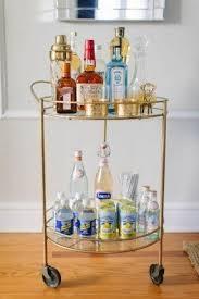 contemporary serving cart foter