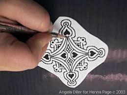 the henna page how to make henna pattern transfers