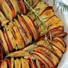 roasted vegetables to brighten up your thanksgiving table