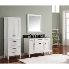 Madison Bathroom Vanities by Avanity Madison Vs48 Wt B Madison White Single Basin Bathroom