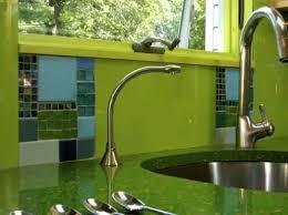 green glass tiles for kitchen backsplashes the proper way of green kitchen tiles smith design