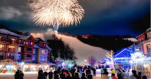 blue mountain will transform into a dreamy christmas village for