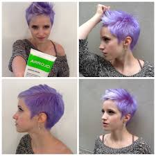 this hair style with a different color a darker purple blue