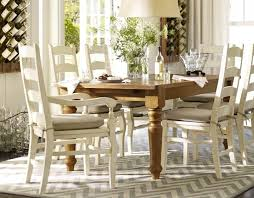 Pottery Barn Dining Room Chairs Pottery Barn Sumner Table With - Pottery barn dining room chairs