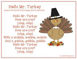 hello mr turkey thanksgiving song thanksgiving