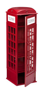 Phone Booth Bookcase Red Phone Booth Cabinet Imanisr Com