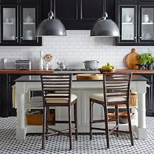 white kitchen island with black granite top barrelson kitchen island with black granite top williams sonoma