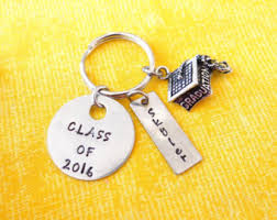 graduation keychain graduation cap custom etsy