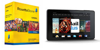 black friday rosetta stone get a free fire hd tablet when you buy rosetta stone today the