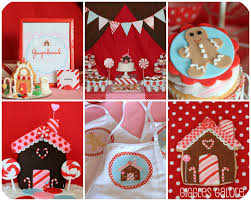Home Decorating Party by Gingerbread House Decorating Party Giggles Galore Idolza